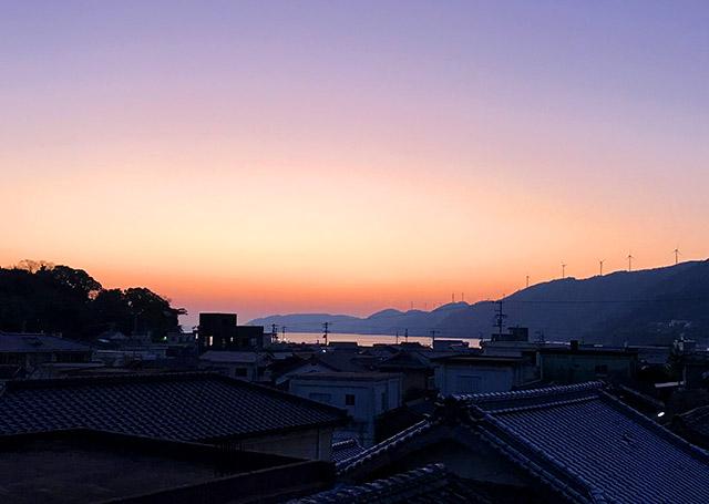 三崎の夕焼け